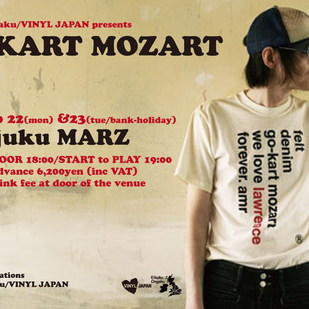 英国音楽/VINYL JAPAN presents 【GO-KART MOZART】