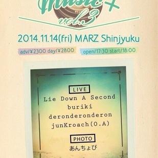 あんちょびpresents『music+vol.3』