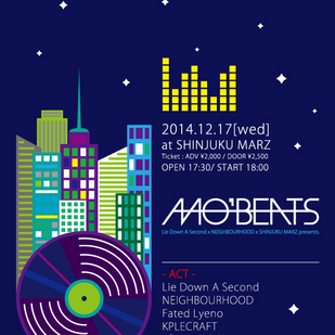 Lie Down A Second x NEIGHBOURHOOD x Shinjuku MARZ presents