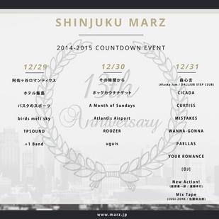 Shinjuku MARZ COUNTDOWN day.1