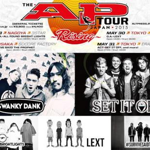 The AP Tour Japan 2015 ~Rising~