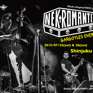 英国音楽/VINYL JAPAN presents 【NEKROMANTIX】