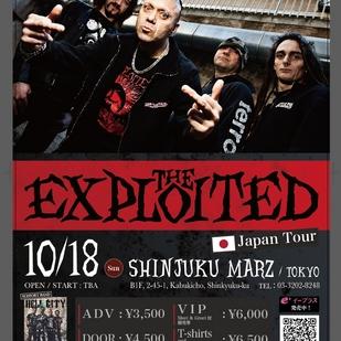 The Exploited ジャパンツアー