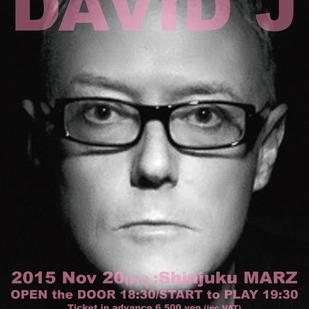 英国音楽/VINYL JAPAN presents DAVID J (BAUHAUS/LOVE AND ROCKETS)