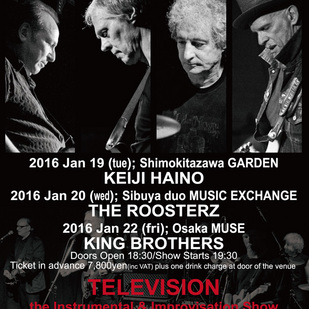 英国音楽/VINYL JAPAN 30th Anniversary GIGS TELEVISION