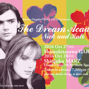 英国音楽/VINYL JAPAN presents 【DREAM ACADEMY =Nick and Kate=】