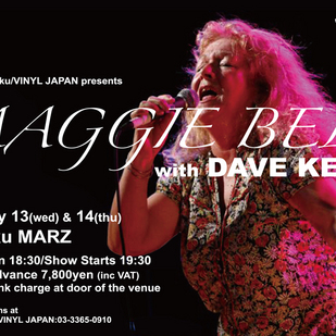 英国音楽/VINYL JAPAN presents 【MAGGIE BELL with DAVE KELLY】