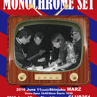 英国音楽/VINYL JAPAN presents 【THE MONOCHROME SET】