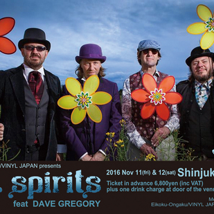 英国音楽/VINYL JAPAN presents 【TIN SPIRITS】