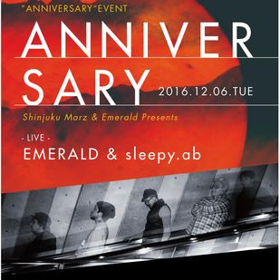 新宿MARZ & Emerald presents