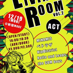 JACKSON kaki pre. 『LIVING ROOM Vol.2』
