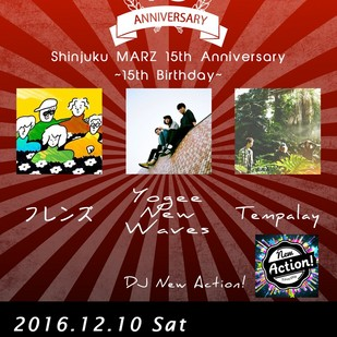 Shinjuku MARZ 15th Anniversary ~15th Birthday~