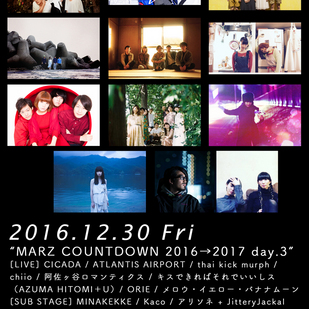 MARZ COUNTDOWN 2016→2017 day.3