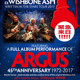 英国音楽/VINYL JAPAN presents 【MARTIN TURNER ex WISHBONE ASH】