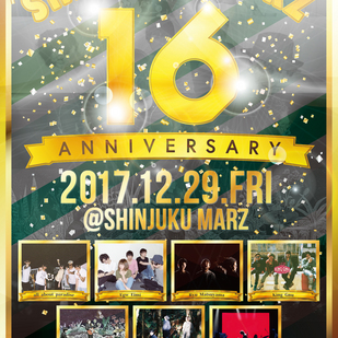 Shinjuku MARZ 16th Anniversary !!