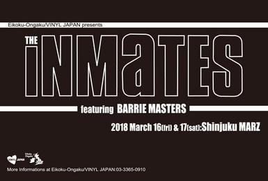 英国音楽/VINYL JAPAN presents 【THE INMATES featuring BARRIE MASTERS】