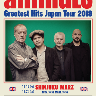 The Animals - Greatest Hits Japan Tour 2018