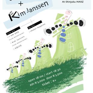 I AM OAK / Kim Janssen  -JAPAN TOUR -