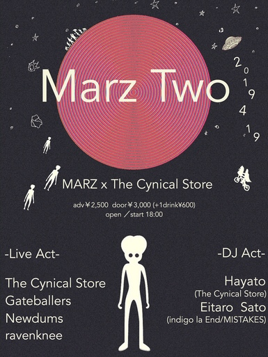 「Marz Two」MARZ × The Cynical Store