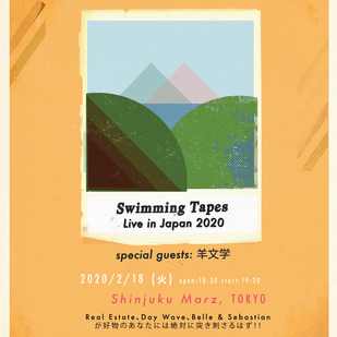 SWIMMING TAPES LIVE IN JAPAN 2020