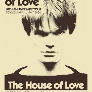 英国音楽/VINYL JAPAN presents 【 THE HOUSE OF LOVE 】(公演延期)