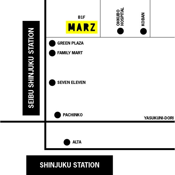 新宿MARZマップ